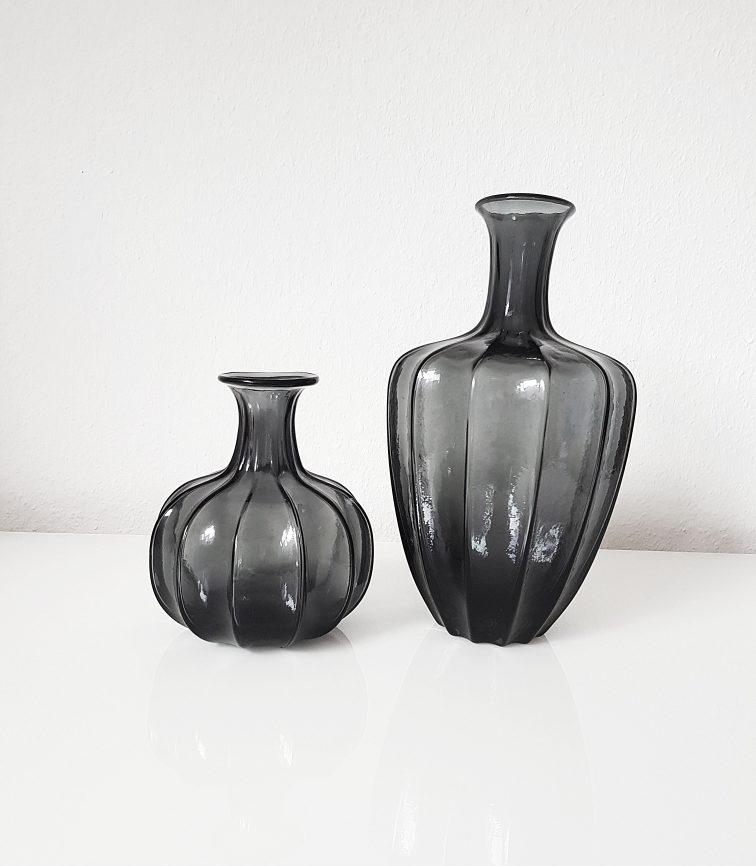 Dekovase Vase Amira von DéKoala aus Glas schwarz