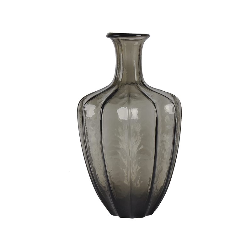 Dekovase Vase Ann von DéKoala aus Glas schwarz