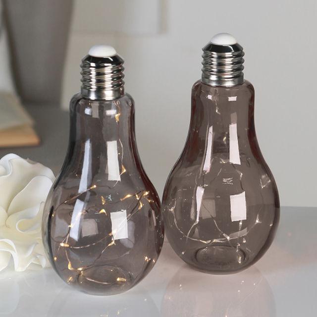 Moderne Leuchtdeko Glühbirnen Retrooptik Dekoala
