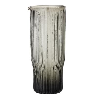 Modernes Bloomingville Decanter Glas grau