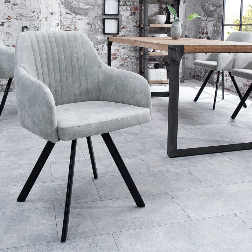 Design Stuhl Luca - Stone