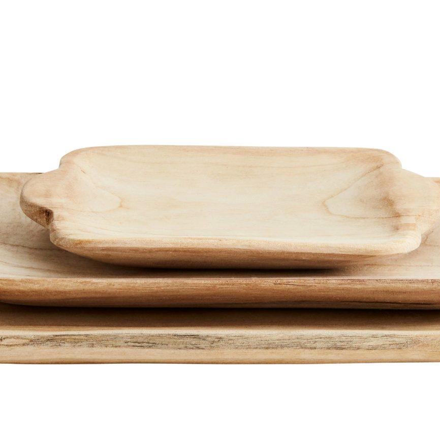 DéKoala Holzbrett Schale aus Holz