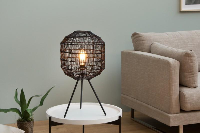 Design Lampe schwarz Retro look DéKoala