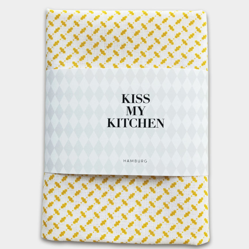 Kiss my Kitchen Pali Pure yellow