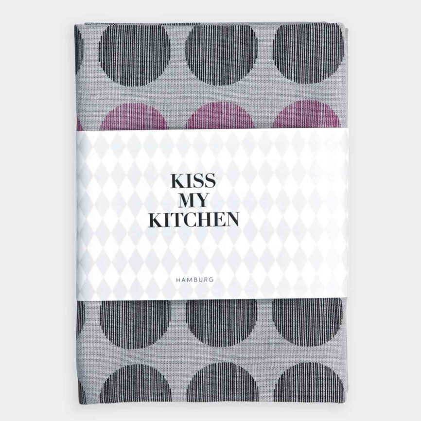 Kiss my Kitchen Geschirrtuch Dots