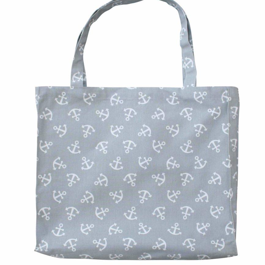 Krasilnikoff shopping bag mit anker