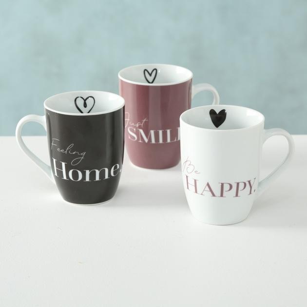 Tassen & becher mit verschiedenen sprüchen