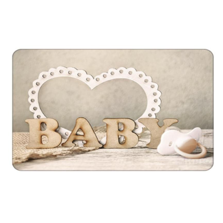 Umschlagkarte grußkarte baby