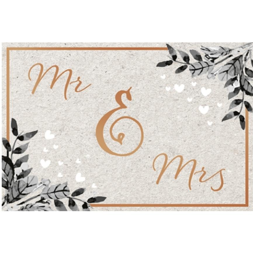 Umschlagkarte Mr&mrs