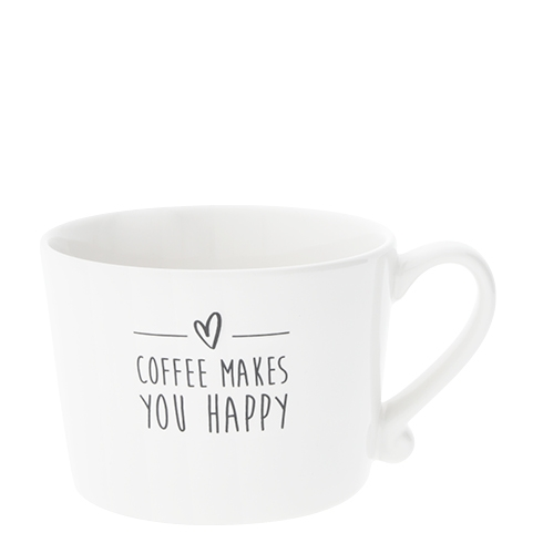 "Bastion collections Tasse ""Coffee makes you Happy"""