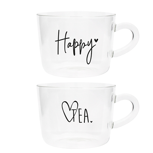 "Bastion Collection Teegläser ""Happy"" Tea"