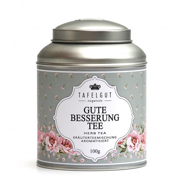 """Tafelgut """"gute besserung Tee"""""""