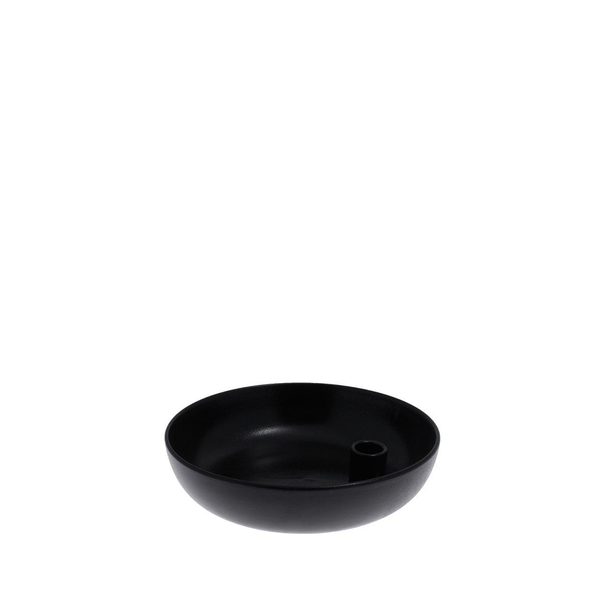 Storefactory Lidatorp schwarz glasiert