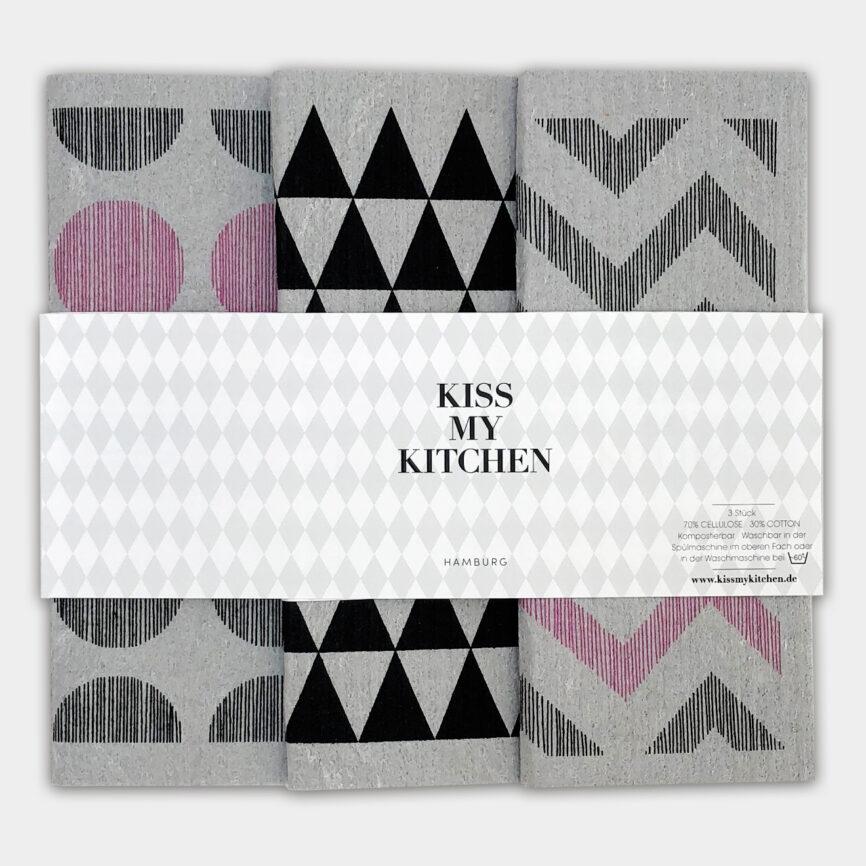 Kiss my Kitchen wien schwammtuch