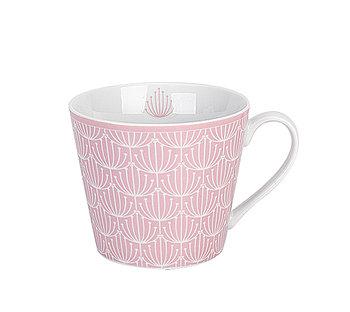 Krasilnikoff Happy Blossom Tasse Pink