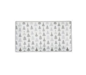 Krasilnikoff Tablett weihnachtsbäume