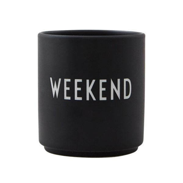 Design letters Becher Weekend