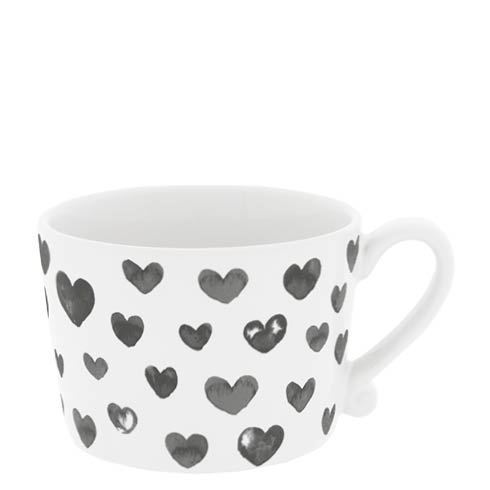 Bastion collections tasse schwarz weiss watercolor
