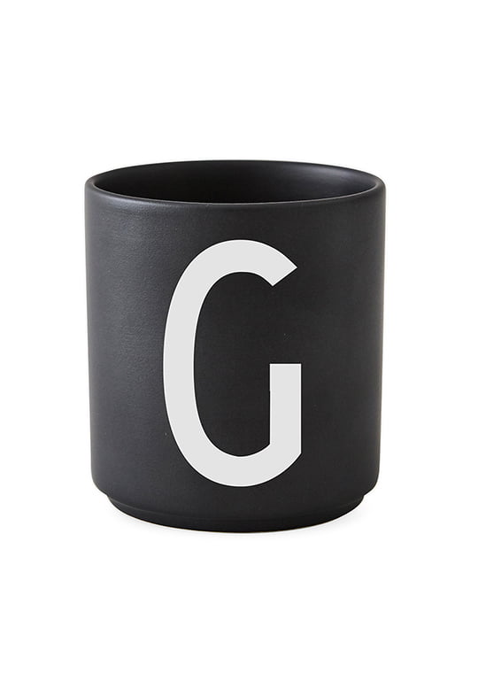 Design letters Becher G