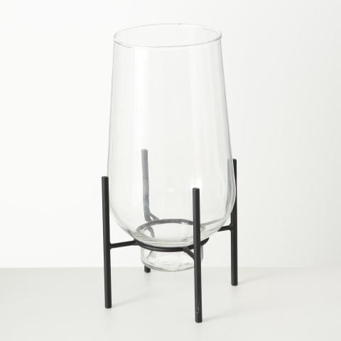 Glas Vase auf stand Boltze