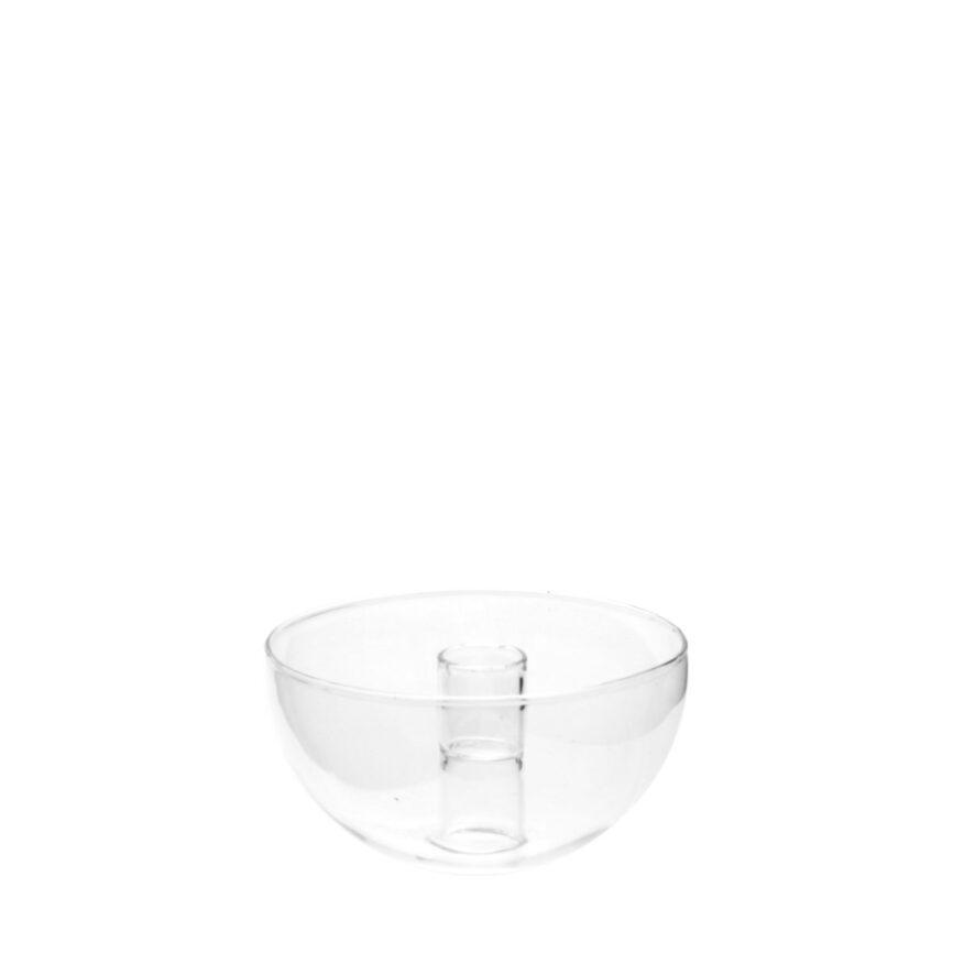 Kerzenhalter Lidatorp aus Glas