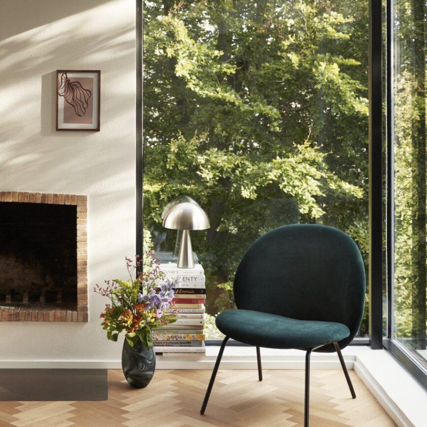 Hübsch Interior Vase marmor