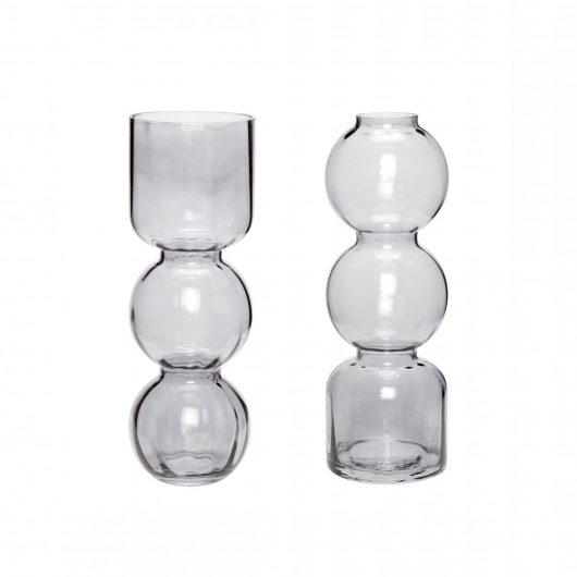 Glas vase von Hübsch Interior