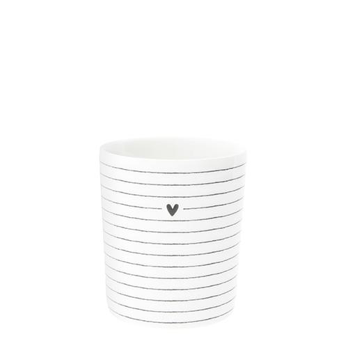 Bastion Collections Mug mit streifen