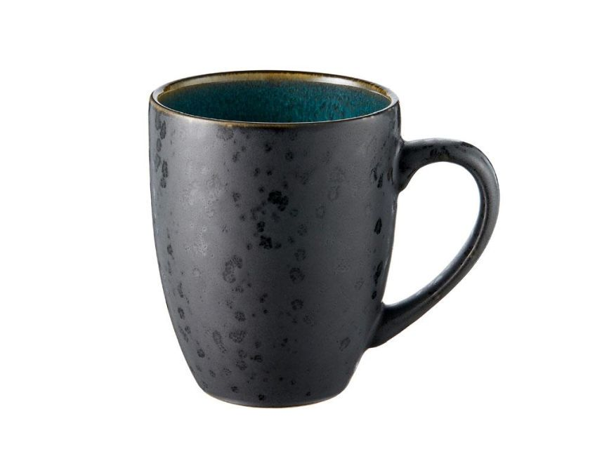 Bitz Living Tasse schwarz grün