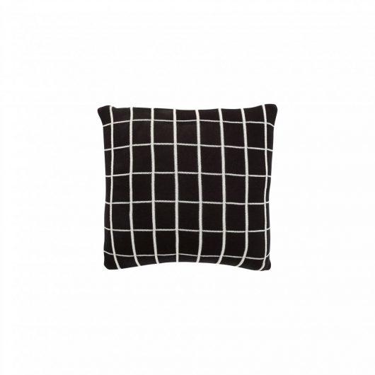 Hübsch Interior Kissen schwarz/weiss