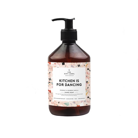 "The Gift Label Handseife ""Kitchen is for Dancing"""