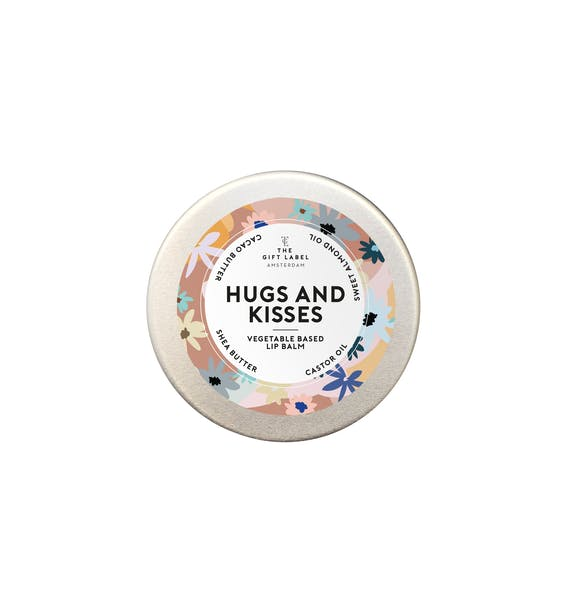 The Gift Label LIP BALM 15ML HUGS AND KISSES