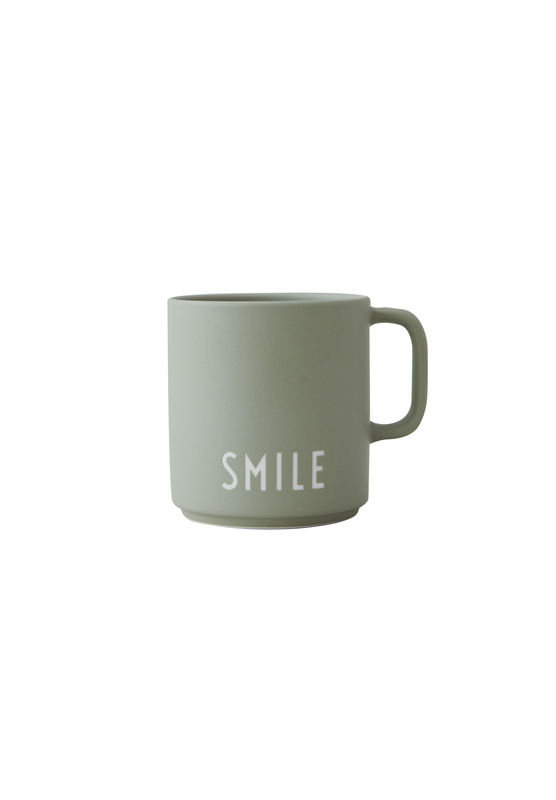 Design Letters becher Smile mit henkel