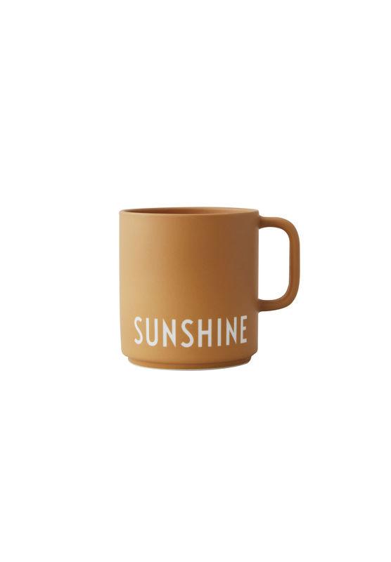 Design letters Becher Sunshine mit Henkel