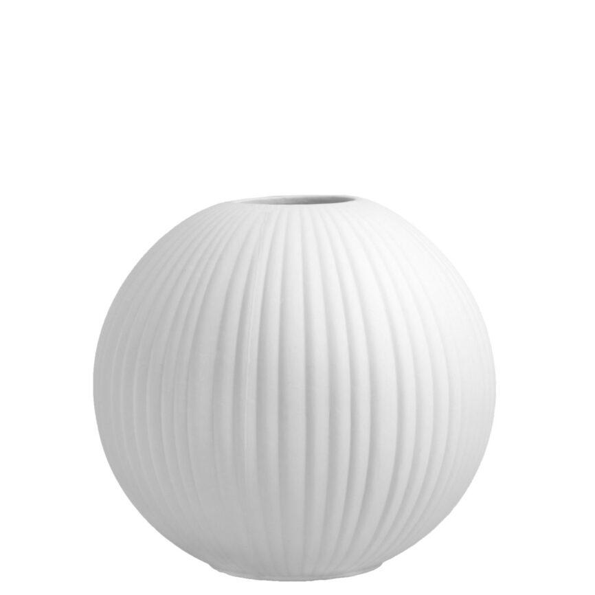 Storefactory Vase vena weiß
