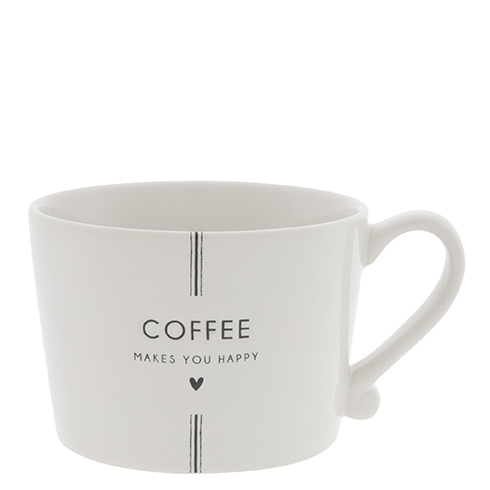 Bastion Collections Coffee makes you happy tasse