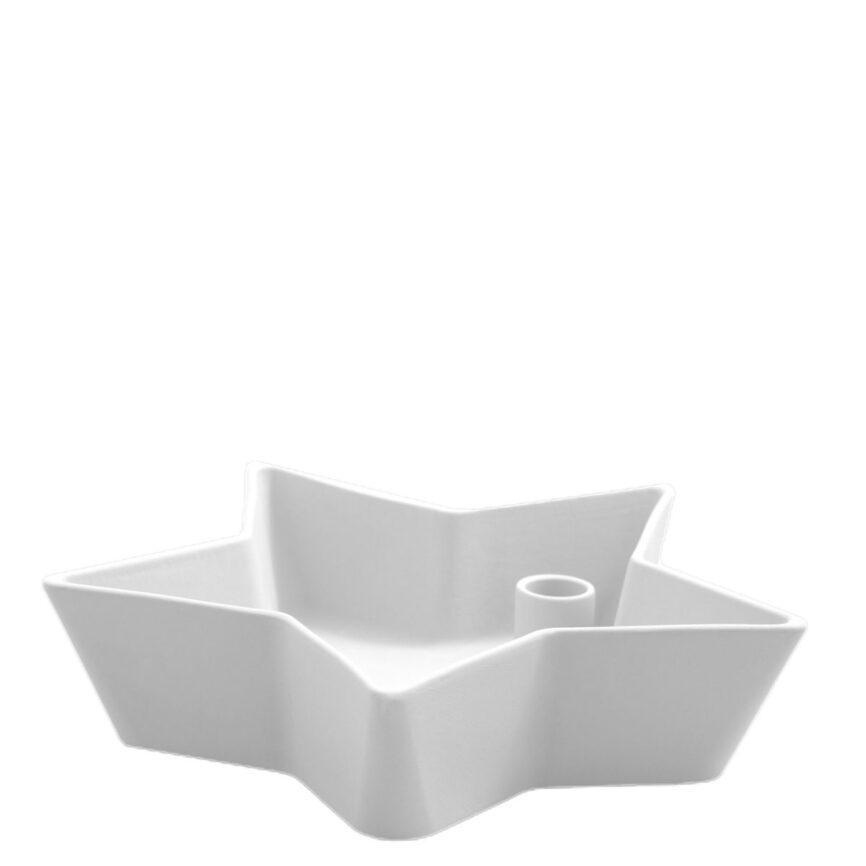 Storefactory Lidatorp Kerzenhalter Stern weiß