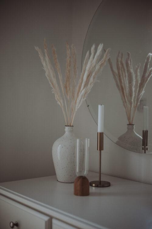 Pampasgras klein weiß
