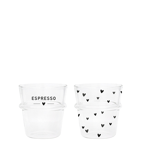 Bastion Collections Espresso Glas