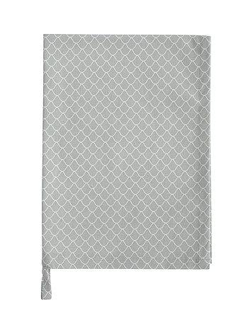 Krasilnikoff Geschirrtuch grau