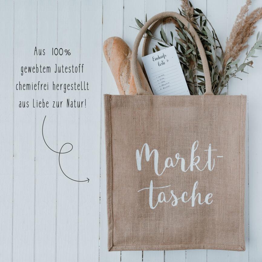 Eulenschnitt Jute Shopper Markttasche