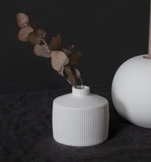 Storefactory Vase berga matt weiß
