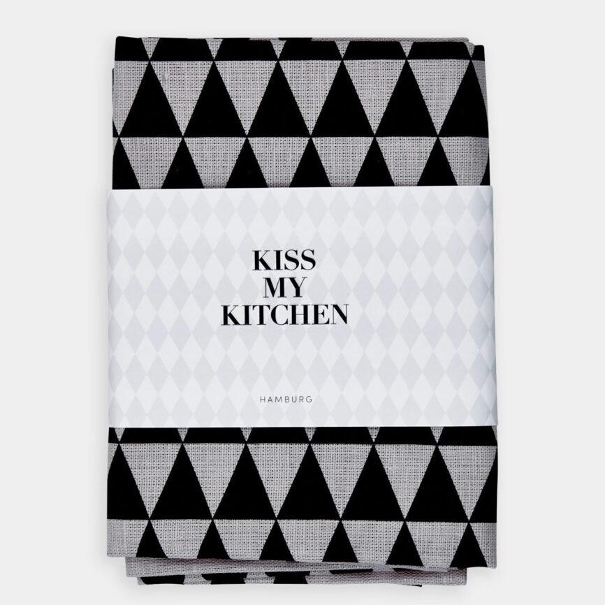 Kiss my Kitchen Geschirrtuch dreieck
