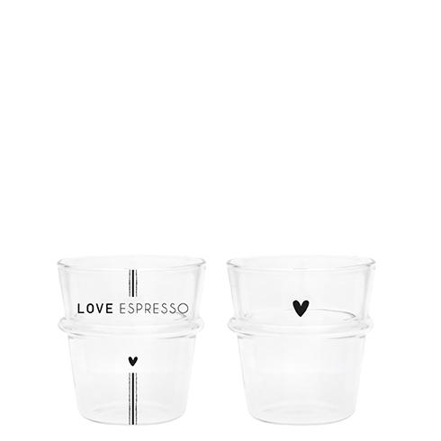 Bastion Collections Espresso Glas