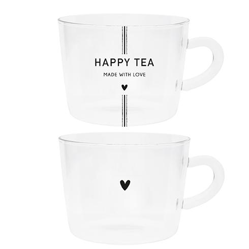Bastion Collections Teeglas Happy Tea