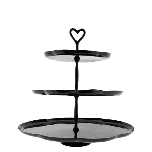 Bastion Collections Etagere Schwarz