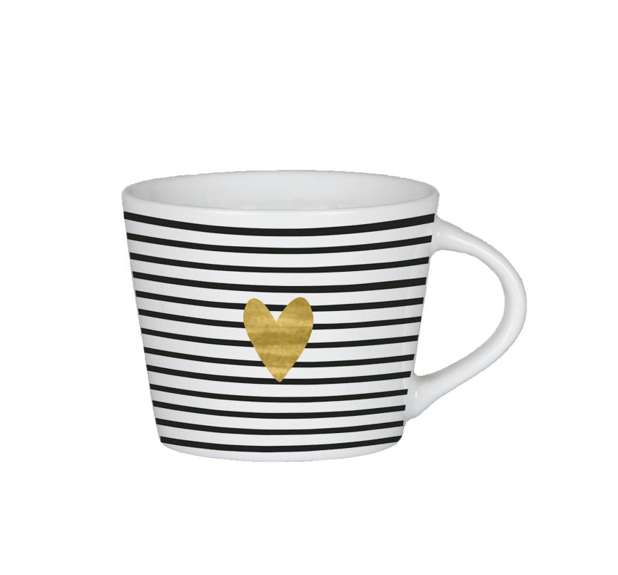 Grafik Werkstatt Espresso Tasse herz