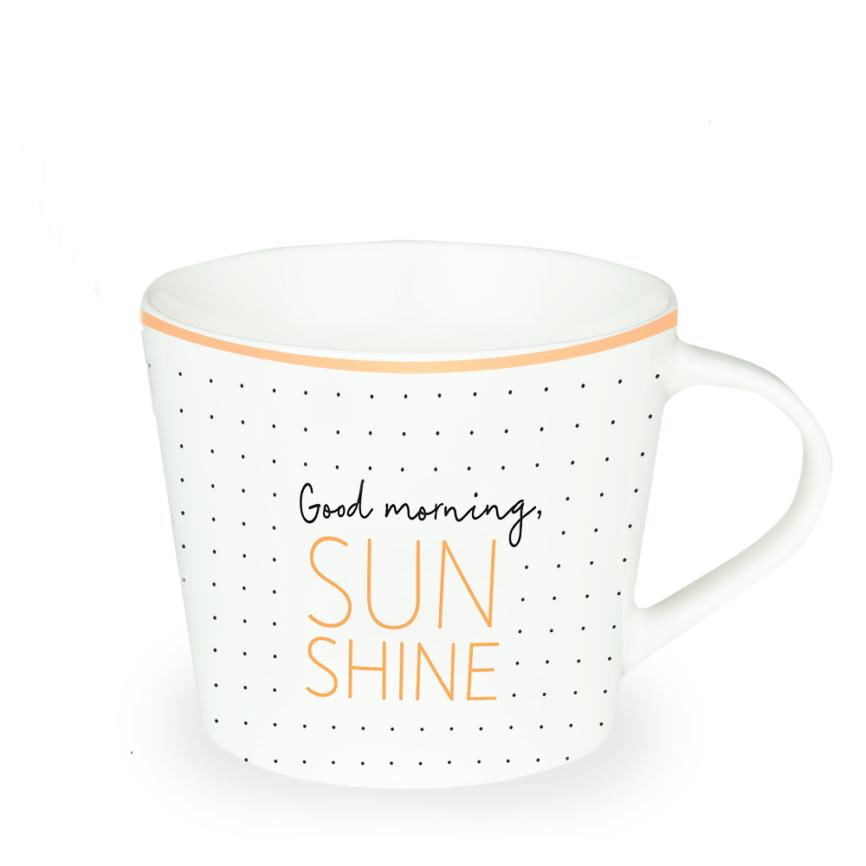 Grafik Werkstatt Tasse Good Morning Sunshine