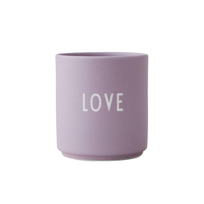Design LettersBecher love lavendel