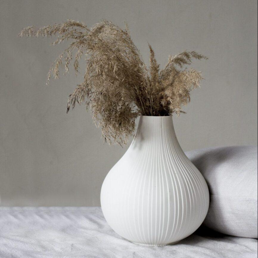 Storefactory Vase Ekenäs weiß
